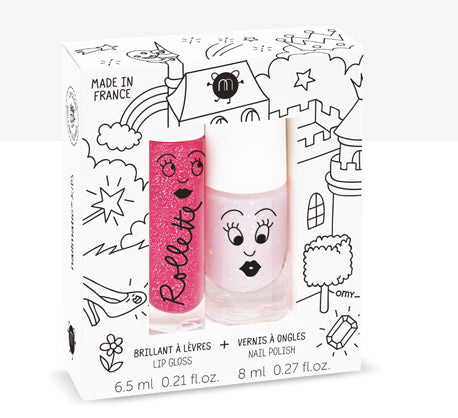 Nail Matic Lip Gloss And Nail Polish /Fairytales
