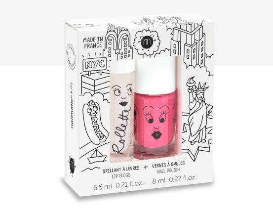 Nail Matic Lip Gloss /Nail Polish/ New York