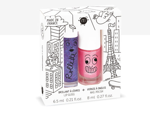 Nail Matic Lip Gloss /Nail Polish /Lovely City
