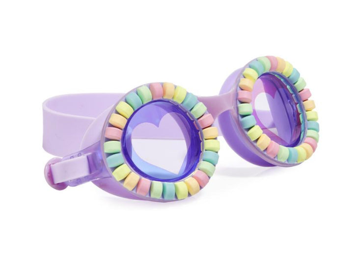 Bling 20 Swim GOGGLES  -Pool Jewels-Lovely Lilac