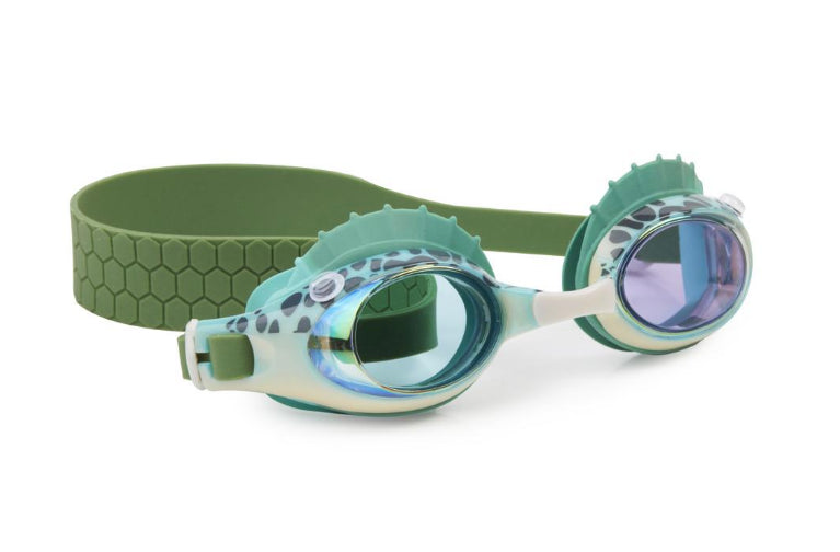 Bling 20  SWIM GOGGLES- Bass Fish -Green Gills