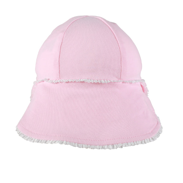 Bedhead Girls Legionnaire Hat Ruffle Trim/Blush UPF 50+