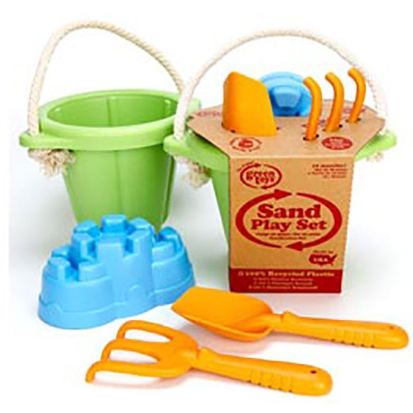 Green Toys Sand And Play Bucket Set /Green