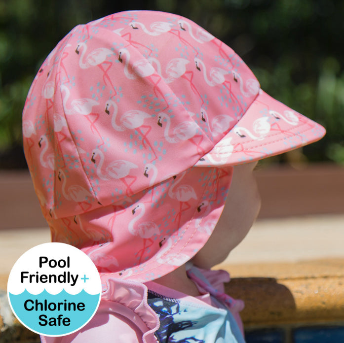 Bedhead Girls Legionnaire Hat UPF50+ /Flamingo