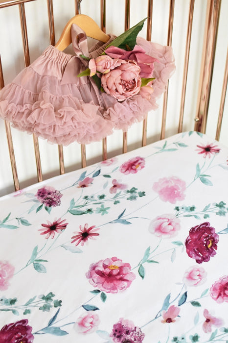 Snuggle Hunny Fitted Cot Sheet /Wanderlust