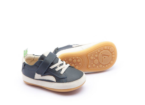 Tip Toey Joey Baby  Shoes /Skidy /Navy /Tapicoa