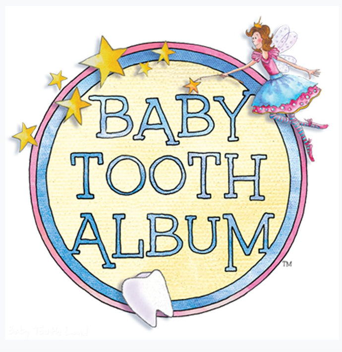ToothLand Baby Teeth Flapbook Album /Pirate Boy