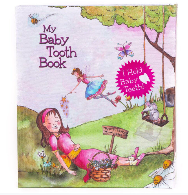 Toothland Baby Tooth Flapbook album / Fairyland Girl