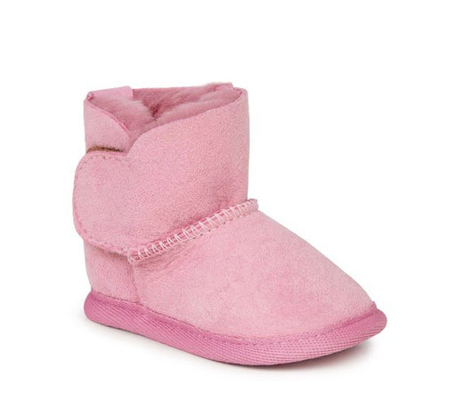 Emu Platinum Baby Booties / Orchid Pink