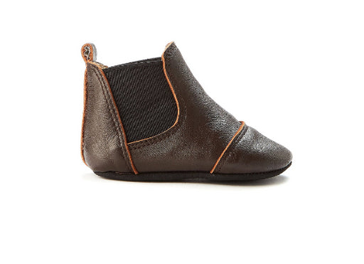 Walnut Wilder Leather Bootee / Dark Tan