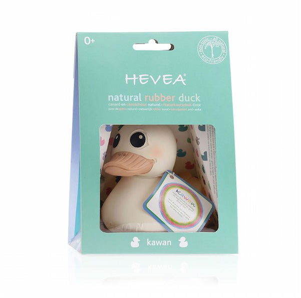 Hevea Natural Rubber Duck  / Large