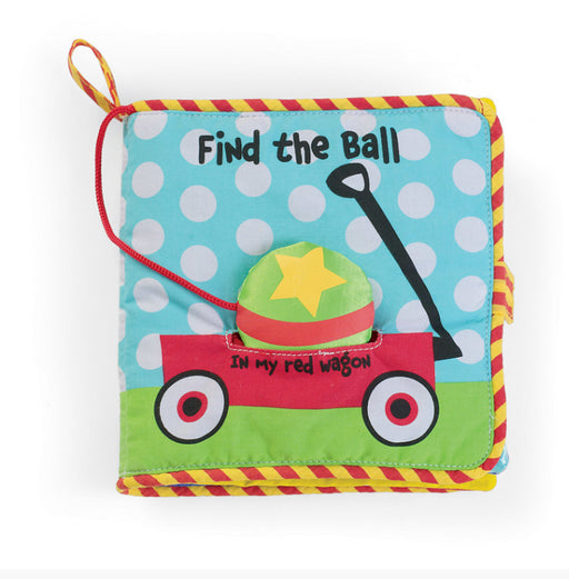 Manhattan Toy Co. Find The Ball Baby Cloth Book A beautiful cloth first story book for little ones!