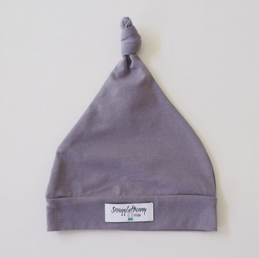 SNUGGLE HUNNY Grey Knotted Beanie