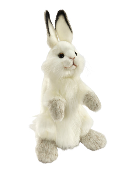 HANSA PUPPET - WHITE RABBIT 34CM