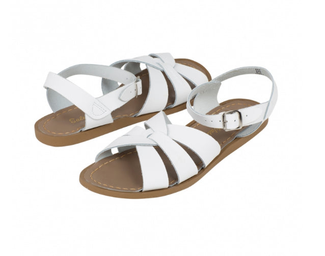SaltWater Sandals Original White /Children's