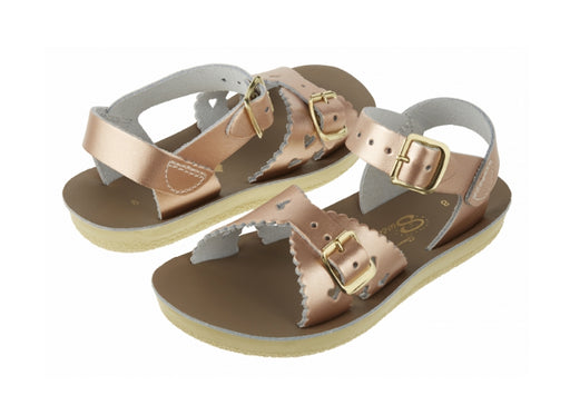 Saltwater Sandals Sweetheart  / Rose Gold /Child
