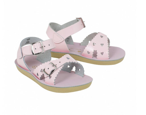 Saltwater Sandals / Sweetheart Shiny Pink Kids