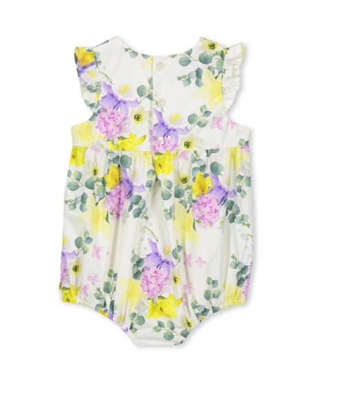 MILKY BABY PRETTY PLAYSUIT-PRETTY FLORAL