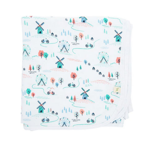 Tiny Twig Muslin Wrap -Play Park -Organic Cotton