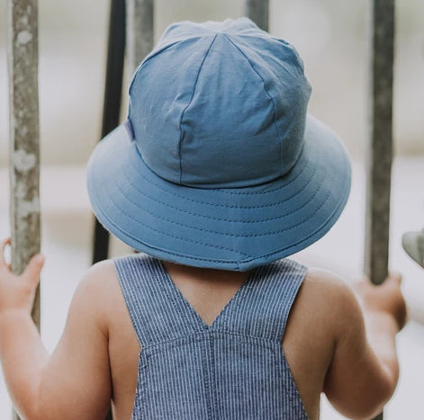 Bedhead Hat Steele Baby Blue Toddler Bucket