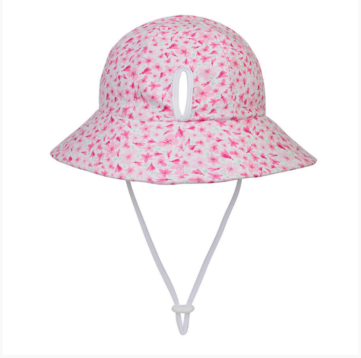 BEDHEAD HATS Girls Bucket Hat 'Cherry Blossom' Print