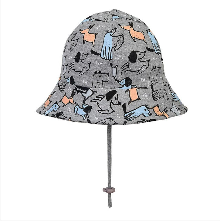 BEDHEAD HATS Boys Toddler Bucket Hat 'Dogs' Print