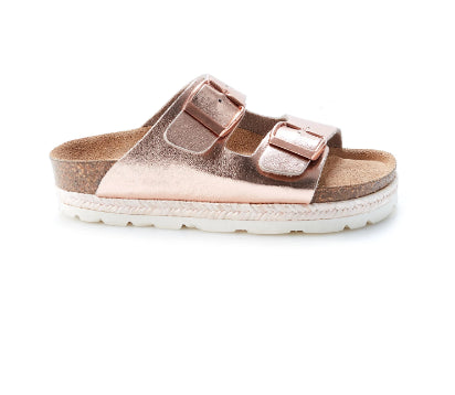 WALNUT Hawaii Mini Sandalia- Nude