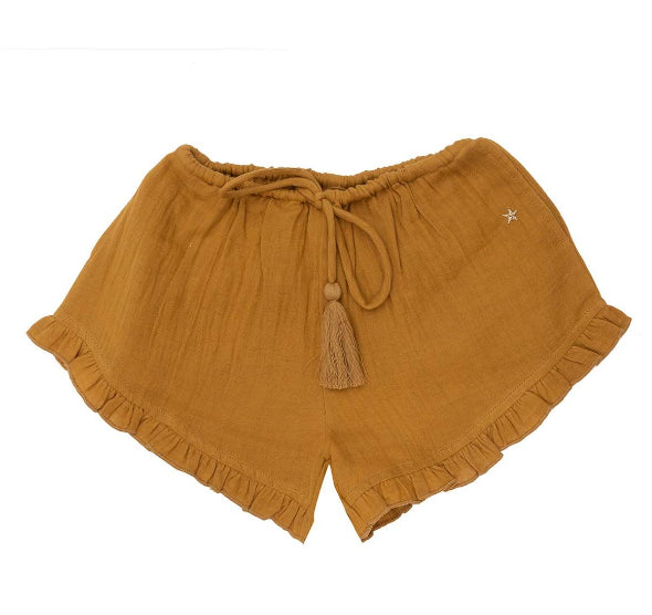 BELLA + LACE MAEVE SHORTS - HONEY