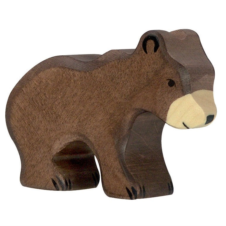 Holztiger Wooden Brown Bear- Large