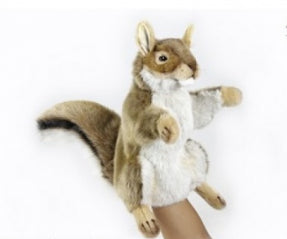 HANSA  Red Squirrel Puppet