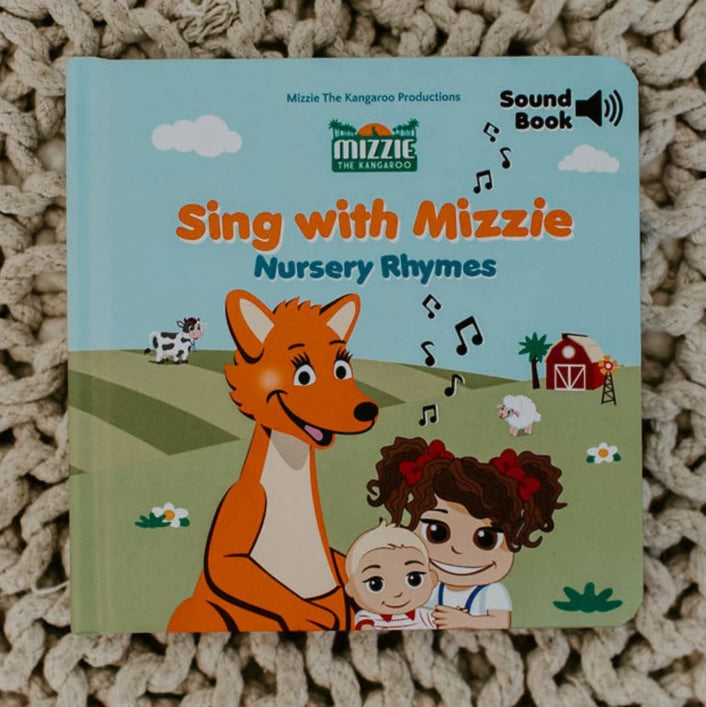 MIZZIE SOUND BOOK 'Sing With Mizzie - Nursery Rhymes