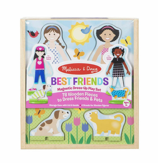 Melissa & Doug - Best Friends Magnetic Dress-Up