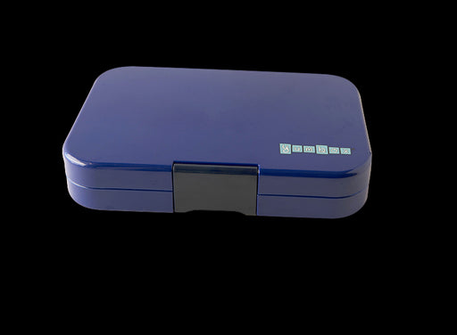 YUM BOX LUNCH BOX TAPAS /5 COMPARTMENT -PORTOFINO BLUE