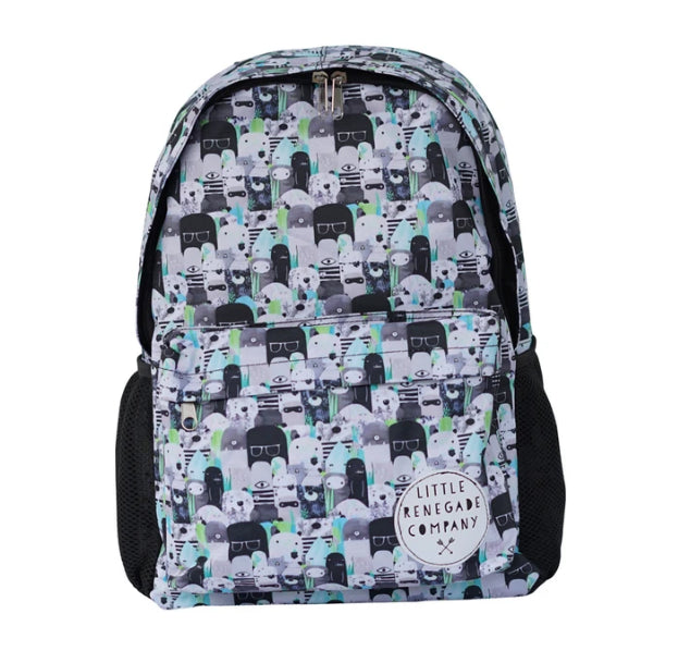 LITTLE RENEGADE -BEARS AND BEASTIES MIDI BACKPACK