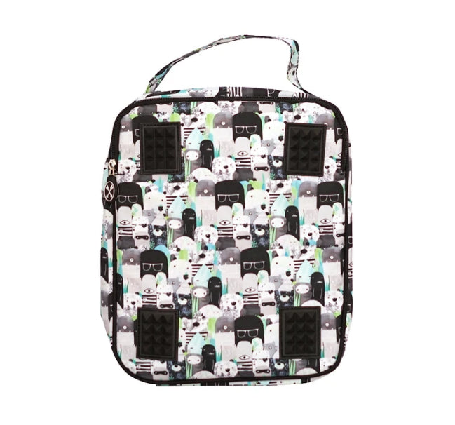 LITTLE RENEGADE -BEARS AND BEASTIES INSULATED LUNCH BAG