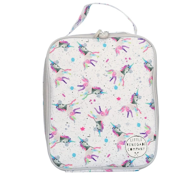 LITTLE RENEGADE -SPARKLES UNICORN INSULATED LUNCH BAG