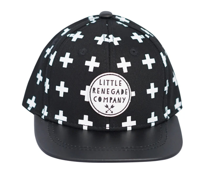 LITTLE RENEGADE -CROSS PRINT CAP