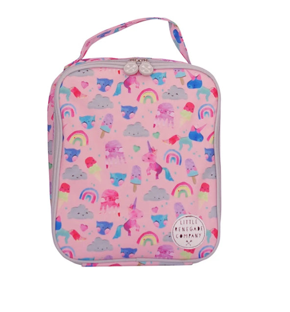 LITTLE RENEGADE -UNICORN FRIENDS INSULATED LUNCH BAG