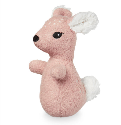 CAM CAM Soft animal Rattle - Fawn