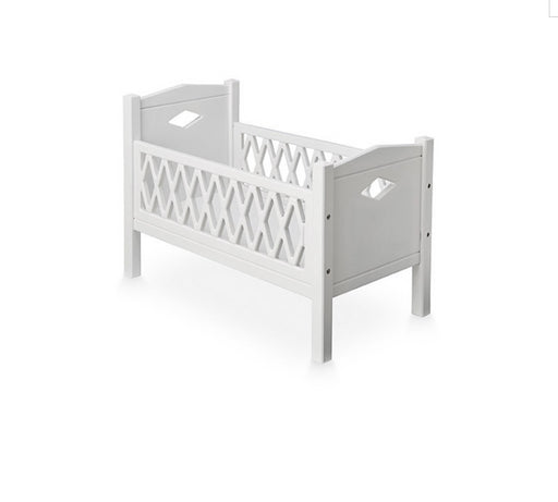 CAM CAM Harlequin Doll's Bed -White