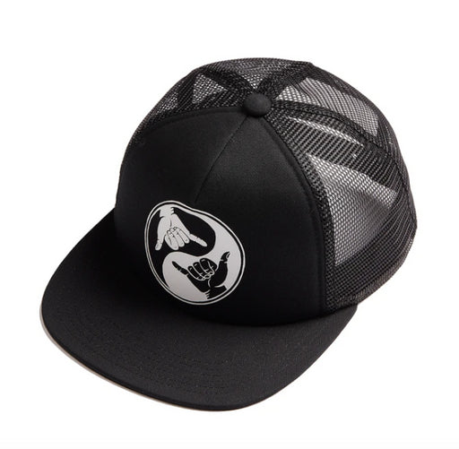 ALPHABET SOUP SHAKA CAP - BLACK