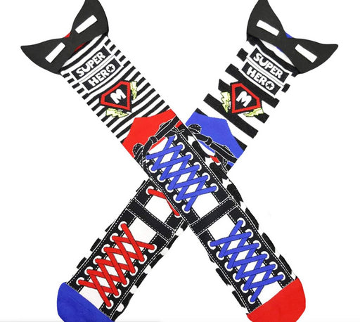 MAD MIA SOCKS -TODDLER -SUPERHERO
