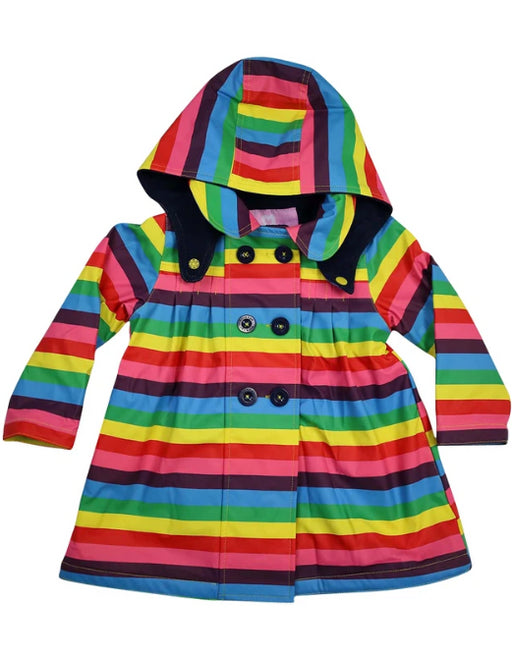 KORANGO RAINCOAT -RANBOW STRIPE