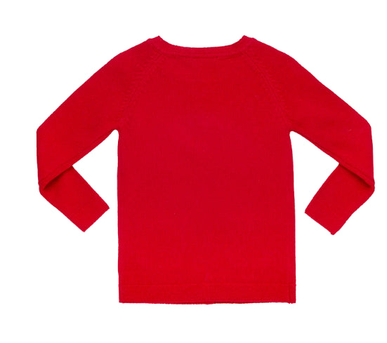 ROCK YOUR BABY CARDIGAN - RED
