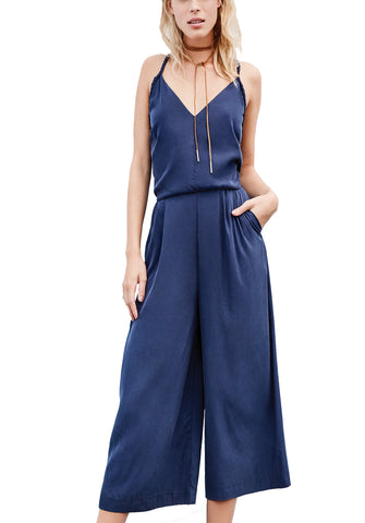 Braided Strap Jumpsuit