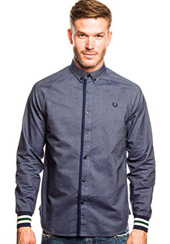 Bomber Cuff Oxford Shirt