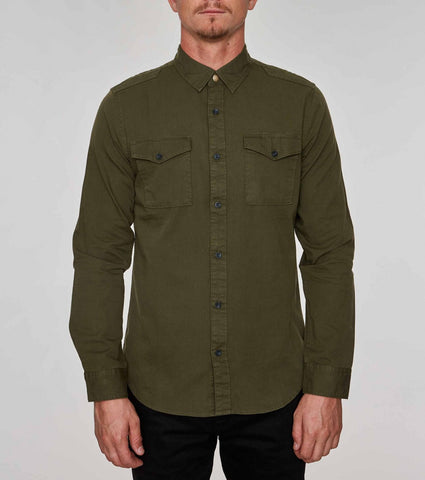 Cargo Button Down