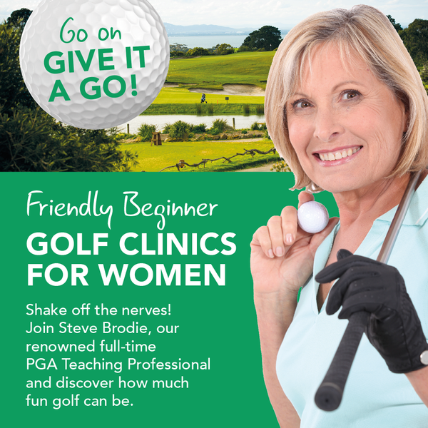 New dates for the friendly Beginner Golf Clinics for Women