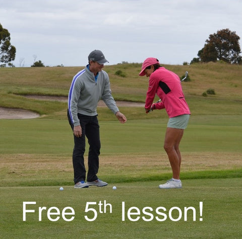 Buy 5 x 60 minute lessons for the price of 4 (Save $90) incl. money back guarantee