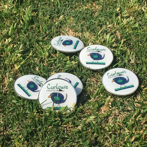 Curlewis Golf Club Ball Markers (Pack of 3)